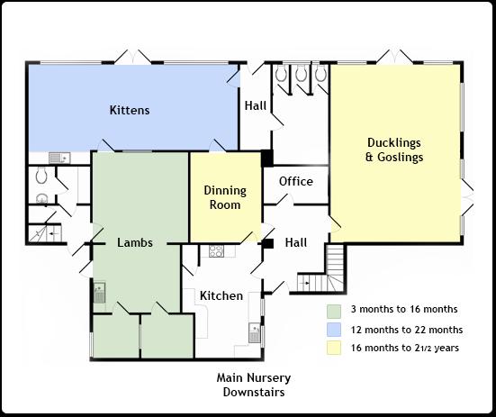 Bovingdon Main Nursery Groundfloor Map