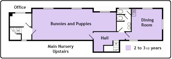 Bovingdon Main Nursery Upstairs