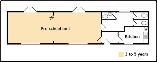 Bovingdon Pre School Unit Floorplan