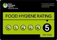 Food Standards - Awarded by Dacorum Borough Council